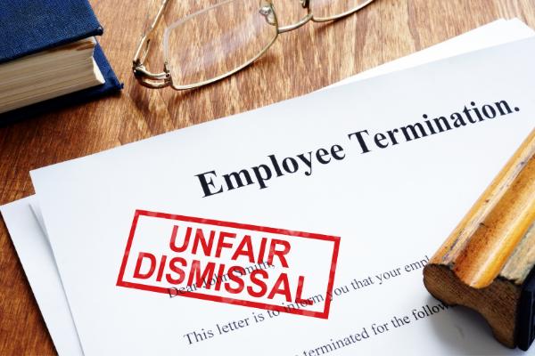 image of unfair dismissal documents